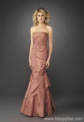 lace evening gown