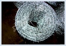 Hot-dip galvanized barbed wires