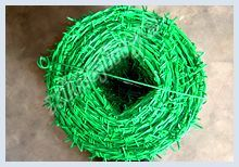 steel barbed wire mesh