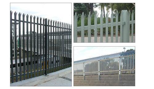 steel hardware fence