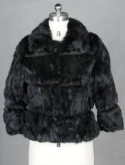 Ladies' Rabbit Fur Jacket
