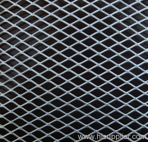 galvanized flattened expanded metal meshes