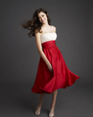 formal prom dresses red