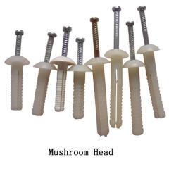 Nylon Nail Anchor Mushroom Head