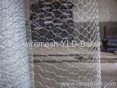 hot-dipped hexagonal wire mesh fence