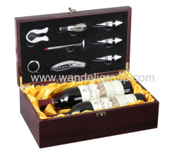 wine box for 2 bottles