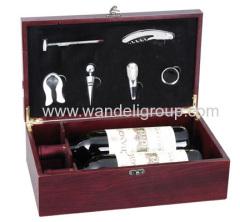 zinc alloy wine set