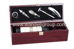 one bottle wine tool box