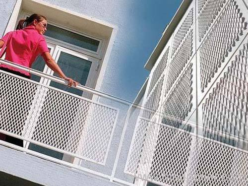 Balcony Protection Expanded Metal Meshes From China