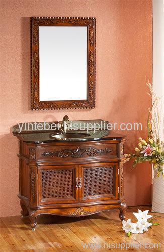antique bathroom cabient