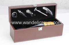 5piece wine set tools