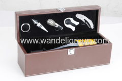 5piece wine tool sets
