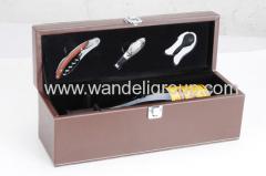 3piece wine tool set