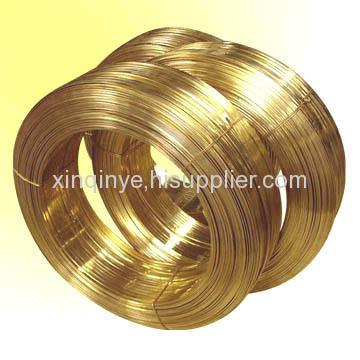 plastic brass wire