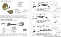 Window wiper motor systems