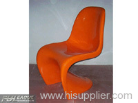PANTON CHAIR,FIBERGLASS PANTON CHAIR,PANTON DINING CHAIR