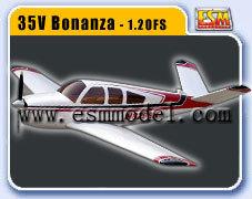 ARF plane Beechcraft Bonanza
