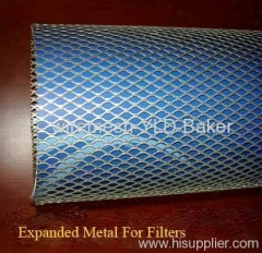 galvanized expanded metal filters