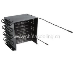 wind cooling condenser with cover