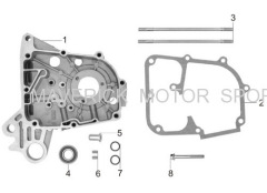 139QMB RIght Crankcase assy