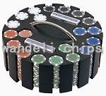 Stainless iron poker chips