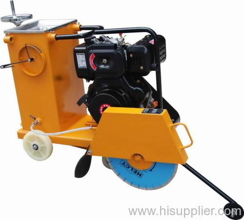 concrete cutter with diesel engine