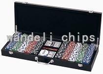poker-chip set