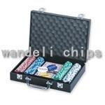 500piece poker chip set