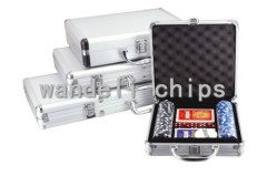 100 piece poker chip set