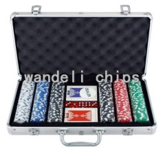 dice Poker Chips set