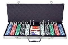 500 piece poker chips set