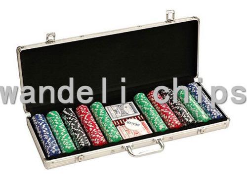 paulson poker chip set