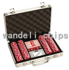 wpt poker chips set