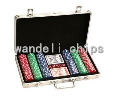 plastic poker chips set