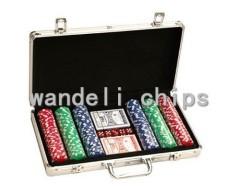 plastic poker chips set