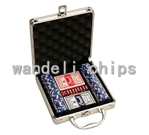 ceramic poker chips set