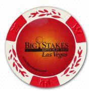 big stakes poker chip
