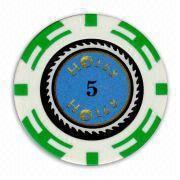 5 poker chip