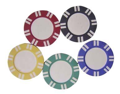 poker chip label