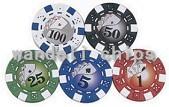 monogrammed poker chips