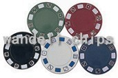 300PCS Poker Chips Set
