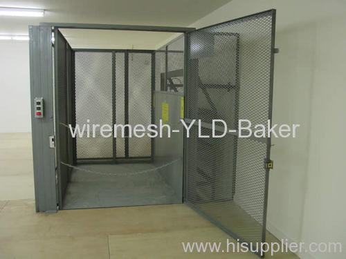 Expanded Metal Mesh Doors