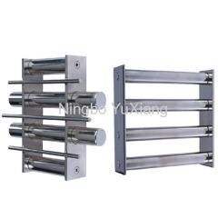 magnetic bar grid filter