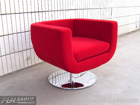 Superbe CUP LOUNGE CHAIR ,FABRIC CUP CHAIR ,BAR LOUNGE CHAIR ,DESIGNER LOUNGE CHAIR