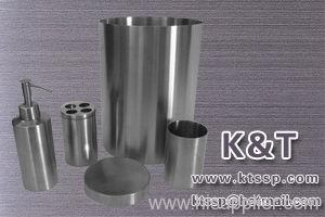 Stainless steel bath room sets