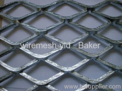 hot-dipped galvanized expanded metal meshes