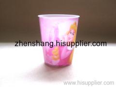3D lenticular cup