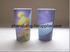 lenticular cup