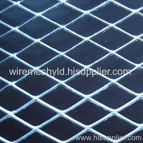 chromeplated expanded metal meshes