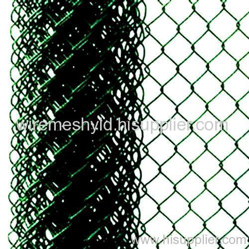 pvc-coated diamond fences